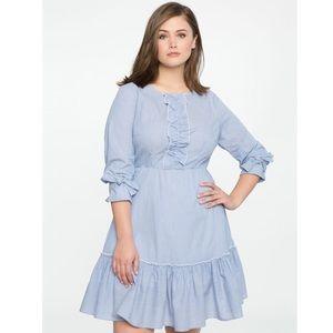 Eloquii Ruffle Dress size 18